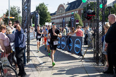 Copenhagen Ironman 2016, Denmark Royalty Free Stock Images