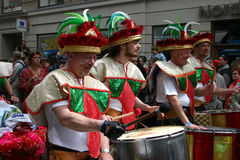 Copenhagen karnawałowy Obraz Royalty Free