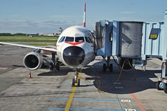Copenhagen Kastrup Airport Stock Photo