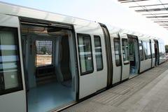 copenhagen linje metro royaltyfri bild