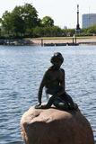copenhagen liten mermaid Royaltyfria Bilder