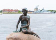 copenhagen mała syrenki statua Zdjęcie Royalty Free