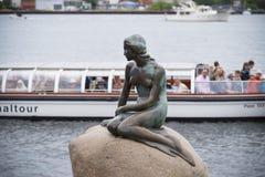 copenhagen mała syrenki statua Zdjęcia Stock