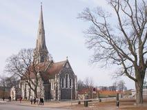 St. Alban's Church, Copenhagen Royalty Free Stock Photo