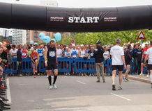 Copenhagen marathon 2011 Royalty Free Stock Photos