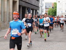 Copenhagen marathon 2011 Stock Photos