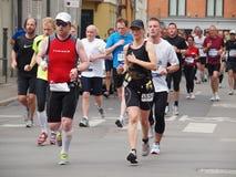 copenhagen maraton 2011 Arkivbild