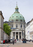 Copenhagen, Marble Church Royalty Free Stock Image