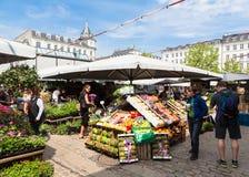 Copenhagen market Royalty Free Stock Image
