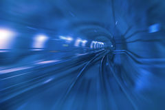 Copenhagen Metro Tunnel Stock Photos