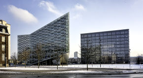 Copenhagen office buildings, Denmark Stock Image