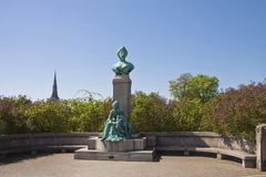 Copenhagen, Monument from 1912 of Princess Marie of Denmark Royalty Free Stock Photography