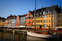 Copenhagen nyhavn Stock Photos