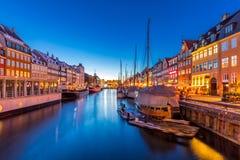 Copenhagen Nyhavn Denmark stock images