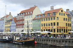 Copenhagen, Nyhavn Royalty Free Stock Photography