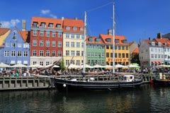 Copenhagen Nyhavn Stock Images