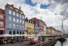 Copenhagen, Nyhavn Royalty Free Stock Images