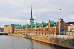 Copenhagen. Old Stock Exchange building Stock Photography