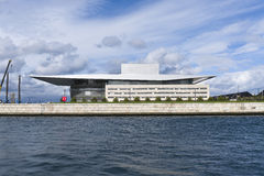 Copenhagen: opera house Royalty Free Stock Photography