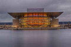 Copenhagen Opera House Royalty Free Stock Images