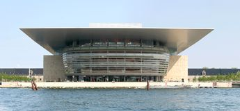 Copenhagen Opera House Royalty Free Stock Image