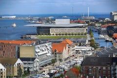 The Copenhagen Opera House in Copenhagen, Denmark Stock Photo
