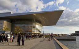 Copenhagen Opera House Stock Photography
