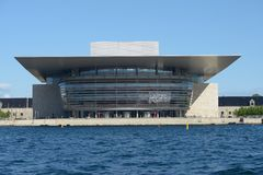 Copenhagen opera house Royalty Free Stock Photos