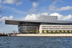 Copenhagen Opera House, sea view Stock Photography