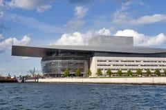 Copenhagen Opera House, sea view Stock Photography