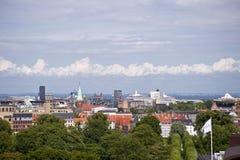 Copenhagen. Panorama of Copenhagen in Denmark Royalty Free Stock Photos