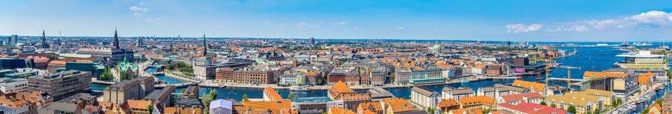 Copenhagen panorama Stock Image