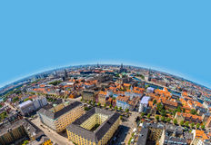 Copenhagen panorama Stock Photography