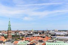 Copenhagen Panoramic View Royalty Free Stock Image
