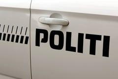 copenhagen policja Zdjęcie Royalty Free