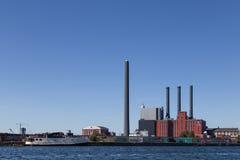 Copenhagen Power Plant Royalty Free Stock Images