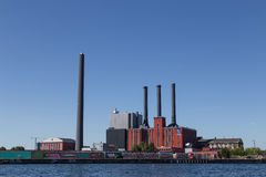 Copenhagen Power Plant Royalty Free Stock Image
