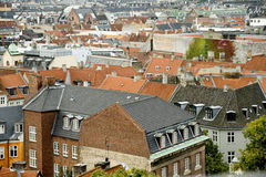 Copenhagen roofs Stock Photography