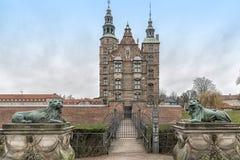 Copenhagen Rosenborg Castle Stock Photography
