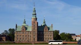 Copenhagen rosenborg zamek Obraz Royalty Free