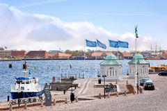 Copenhagen. Royal marina Stock Photography