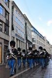 Copenhagen's soldieries Stock Photography
