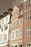 Copenhagen in sepia Royalty Free Stock Photos