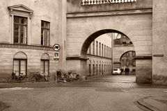 Copenhagen sepia Royalty Free Stock Photography