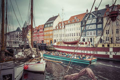 Free COPENHAGEN - SEPTEMBER 07: Yachts In NYHAVN On September 07, 201 Stock Photos - 67215003