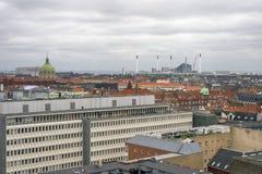 Copenhagen Skyline Royalty Free Stock Photos
