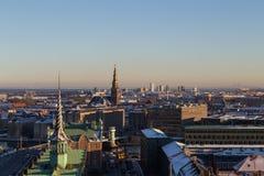 Copenhagen Skyline View Royalty Free Stock Images