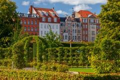 copenhagen stadspark långt royaltyfri foto