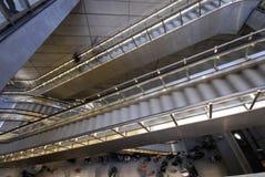 copenhagen stationstunnelbana Royaltyfria Bilder
