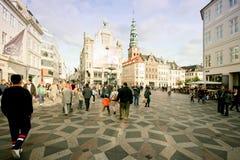 Copenhagen street. Stock Photography